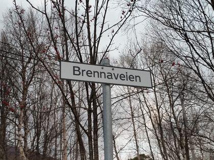 Skilt Brennaveien