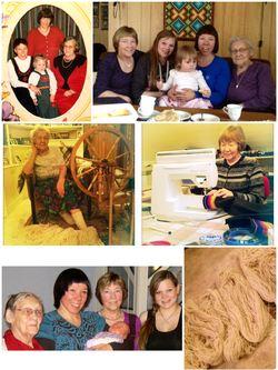Fem generasjoner. Foto: Privat.