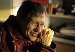 19910302 Nils-Aslak Valkeapää er vinner av nordisk råds litteraturpris Foto Rolf Chr Ulrichsen Aftenposten