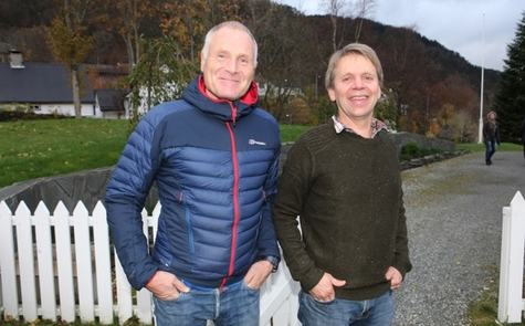 Pål Roland og Ivar Sandgren