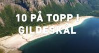 10 på topp i Gildeskål