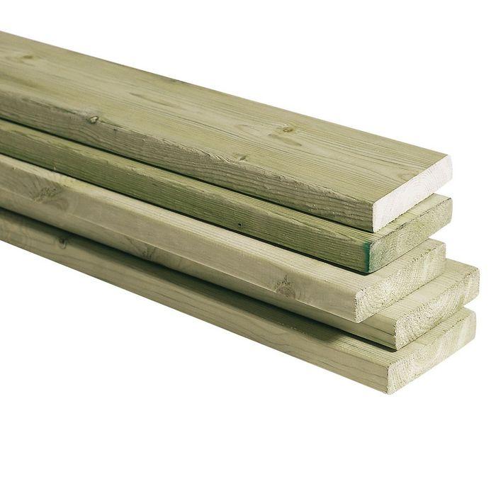Impregnert-terrassebord-trelast