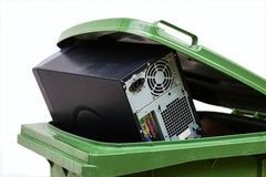Gammel PC - kaste