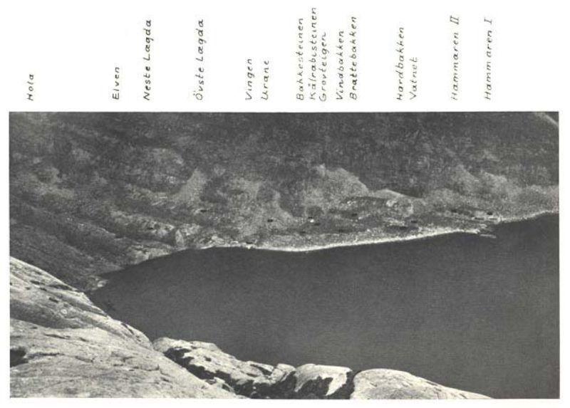 Bilde som viser Vingenpollen og stadnamn