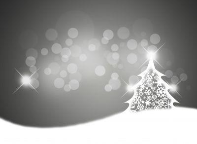 Juletre sølv