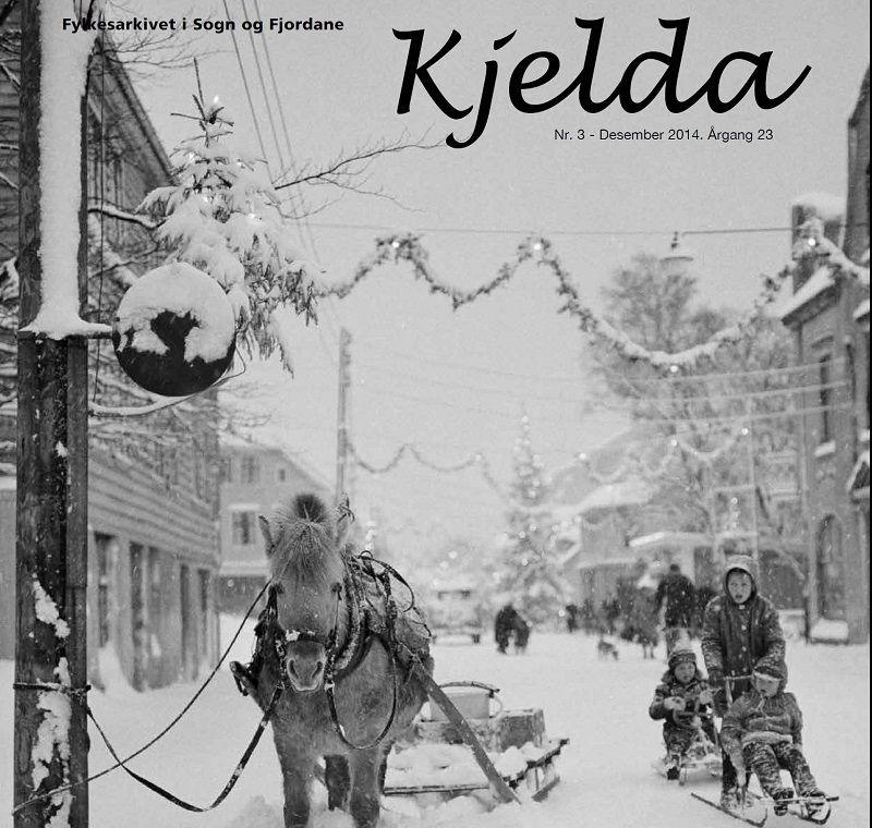 Framsida av Kjelda nr 3 2014