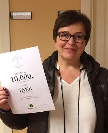 Eva Barurowitz vinner mars 2017[1]