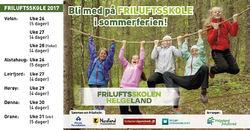Friluftsskole i Leirfjord uke 27