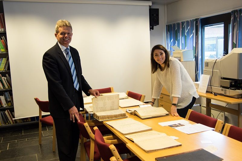 Torben Engbjerg og Whitney Peterson. Foto: Sigrun Espe.