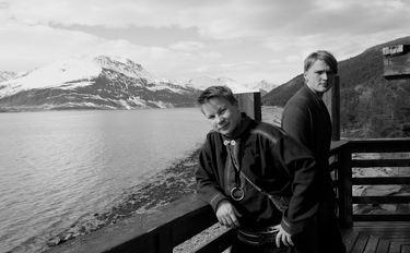 Niilas Holmberg og Roope Mäenpää Foto Roope Mäenpää