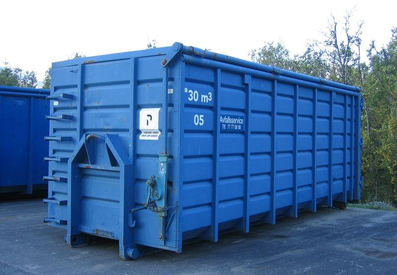 Container fra Avfallsservice