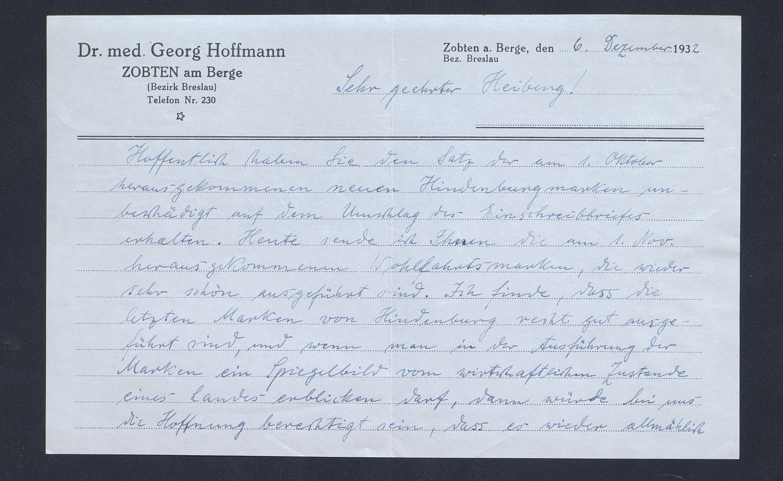 Skanna brev frå dr. Hoffmann
