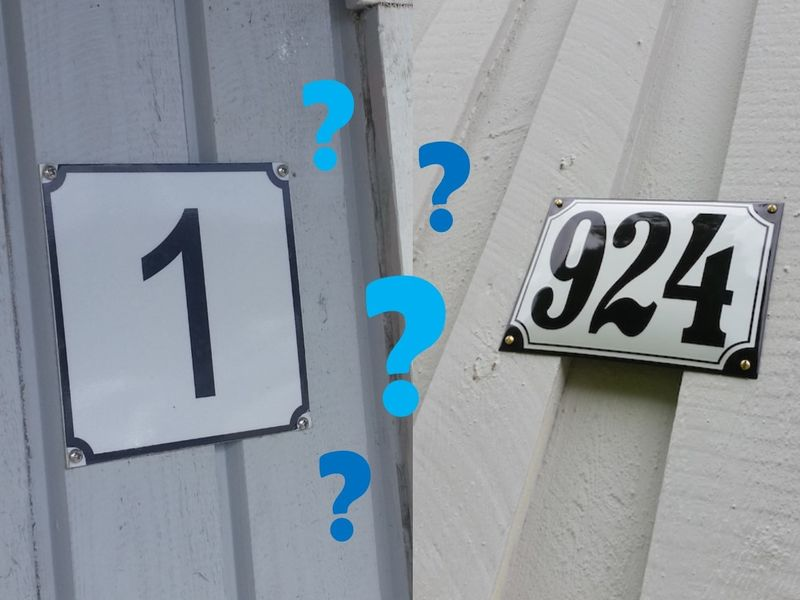 Husnummer feil