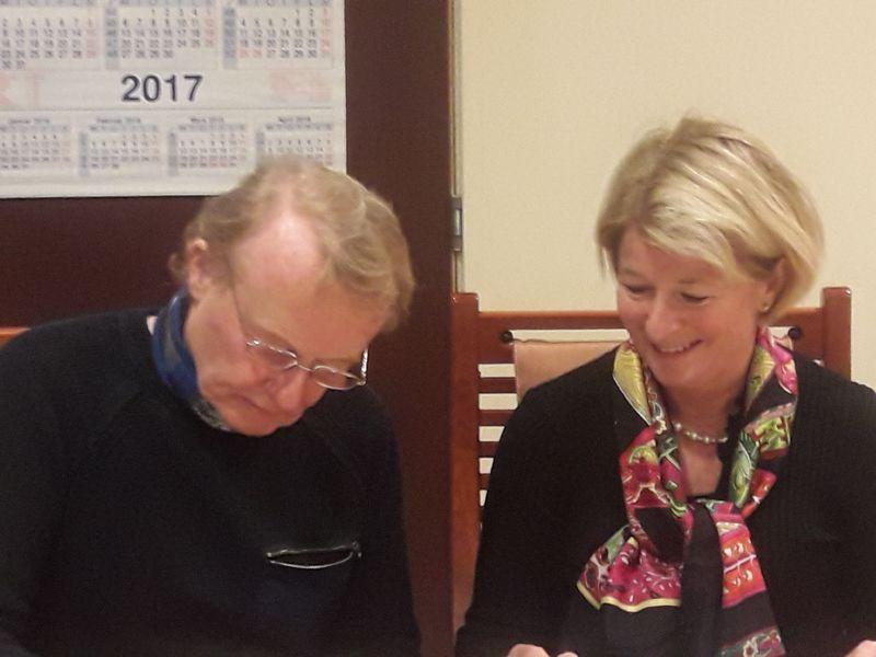 Anne Husebekk og Knut Jentoft