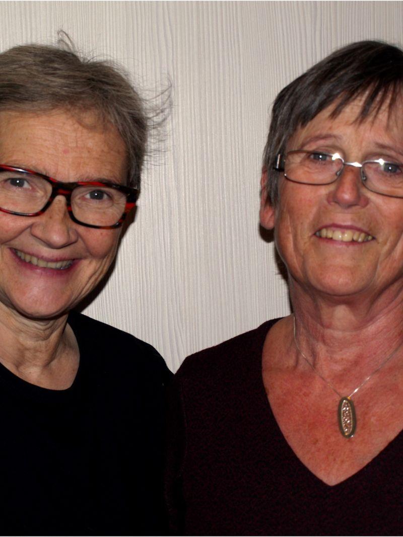 Kine Hellebust og Anne Bjørkli