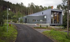 Krematoriet i Ålesund. Fotocopyright(c)2012: Roger Engvik