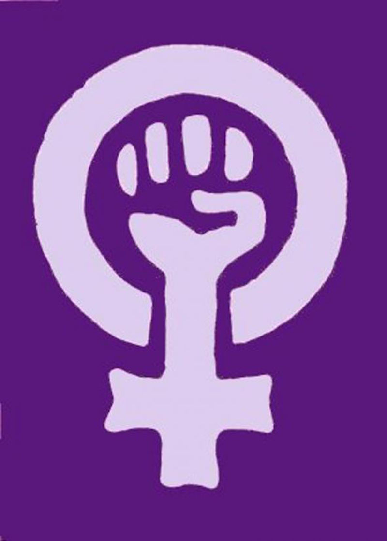Venusspegelen, med heva knyttneve, blei eitt utbreidd symbol for kvinnekamp og radikal feminisme på 1970-talet