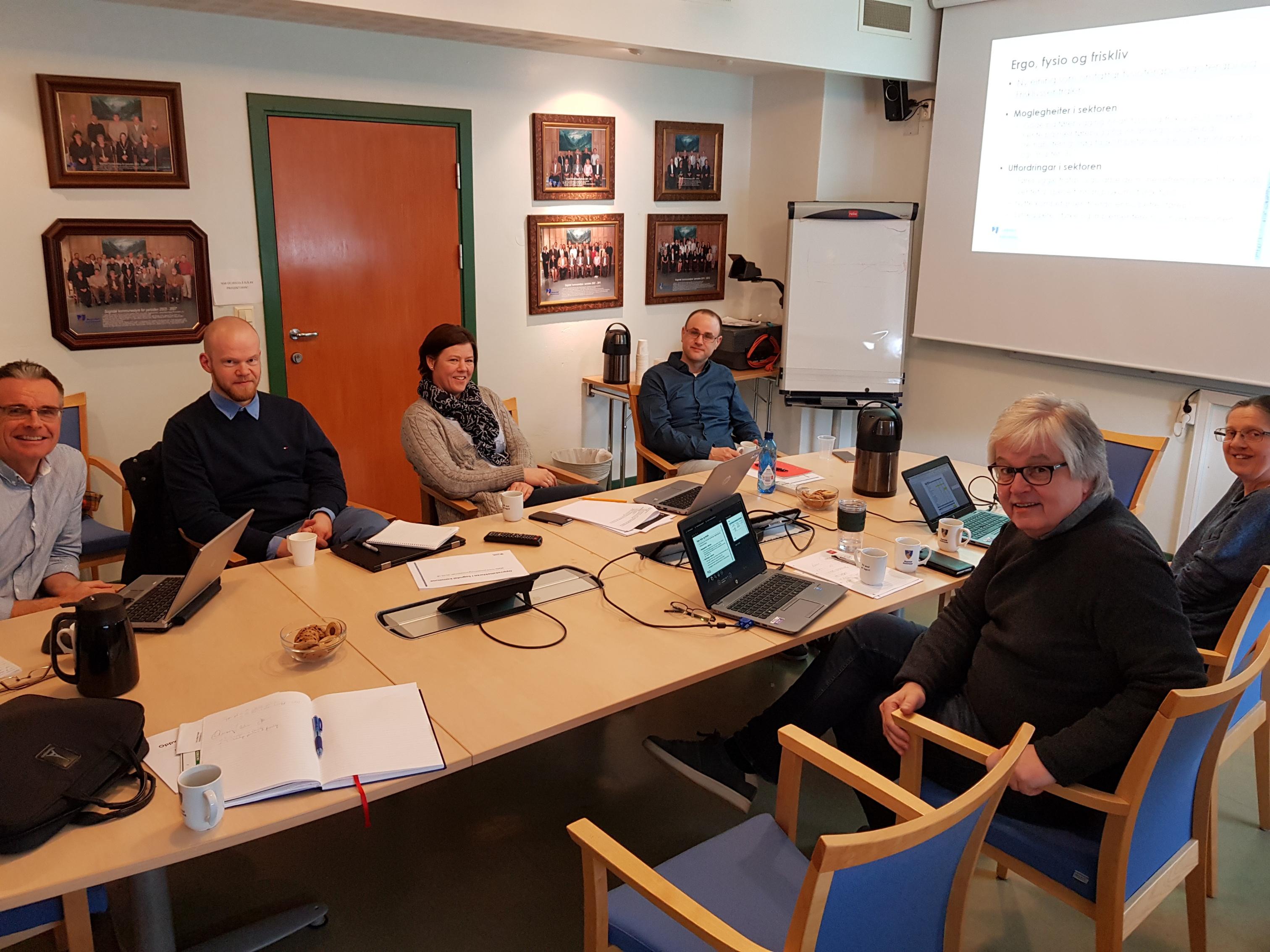 rosjektgruppa Nye Sogndal kommune og rådmannsgruppa i Sogndal kommune