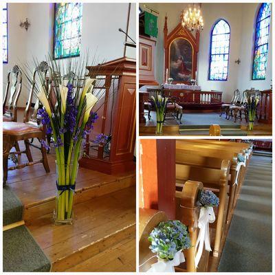 Årnes kirke,Bryllup
