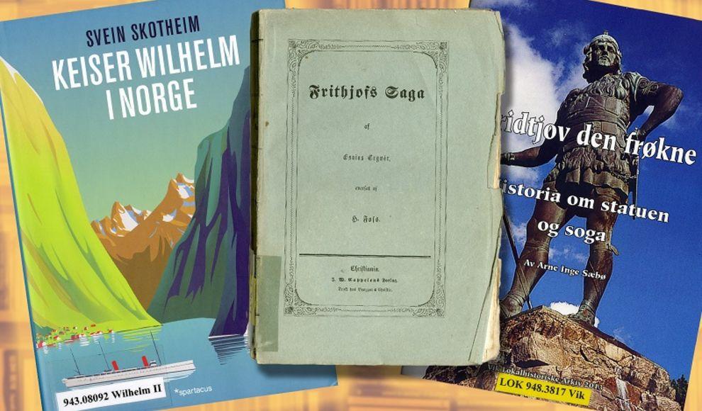 Illustrasjonsfoto. Relevante bøker frå fylkesarkivet sitt bibliotek. Fotograf: Javad Montazeri