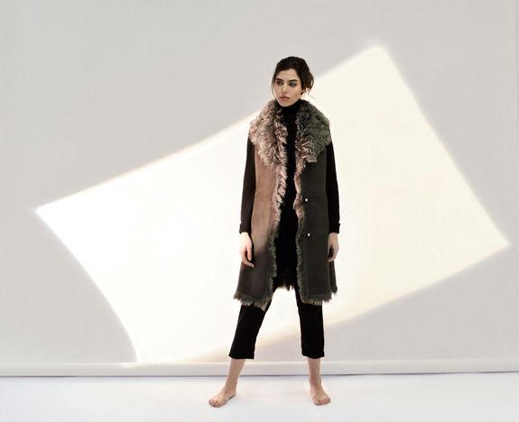 5c0fc28a Lammeskinn dame - Atelier Phillip AS