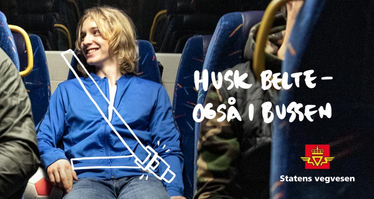 Belte i buss-kampanje gutt