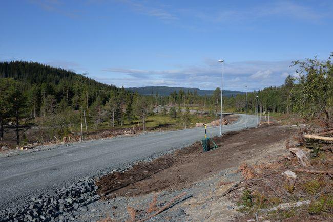 utbyggingsområde bustadfelt