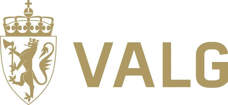 valg logo, valgdirektoratet