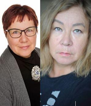 Gun Margret Utsi og Lena Stenberg
