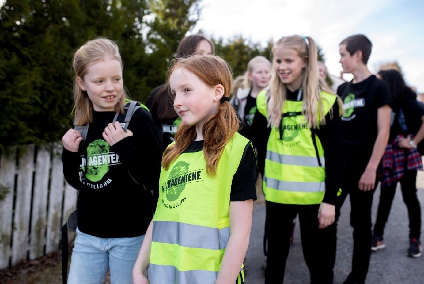 Beintøft - Miljøagentene gå til skolen aksjon