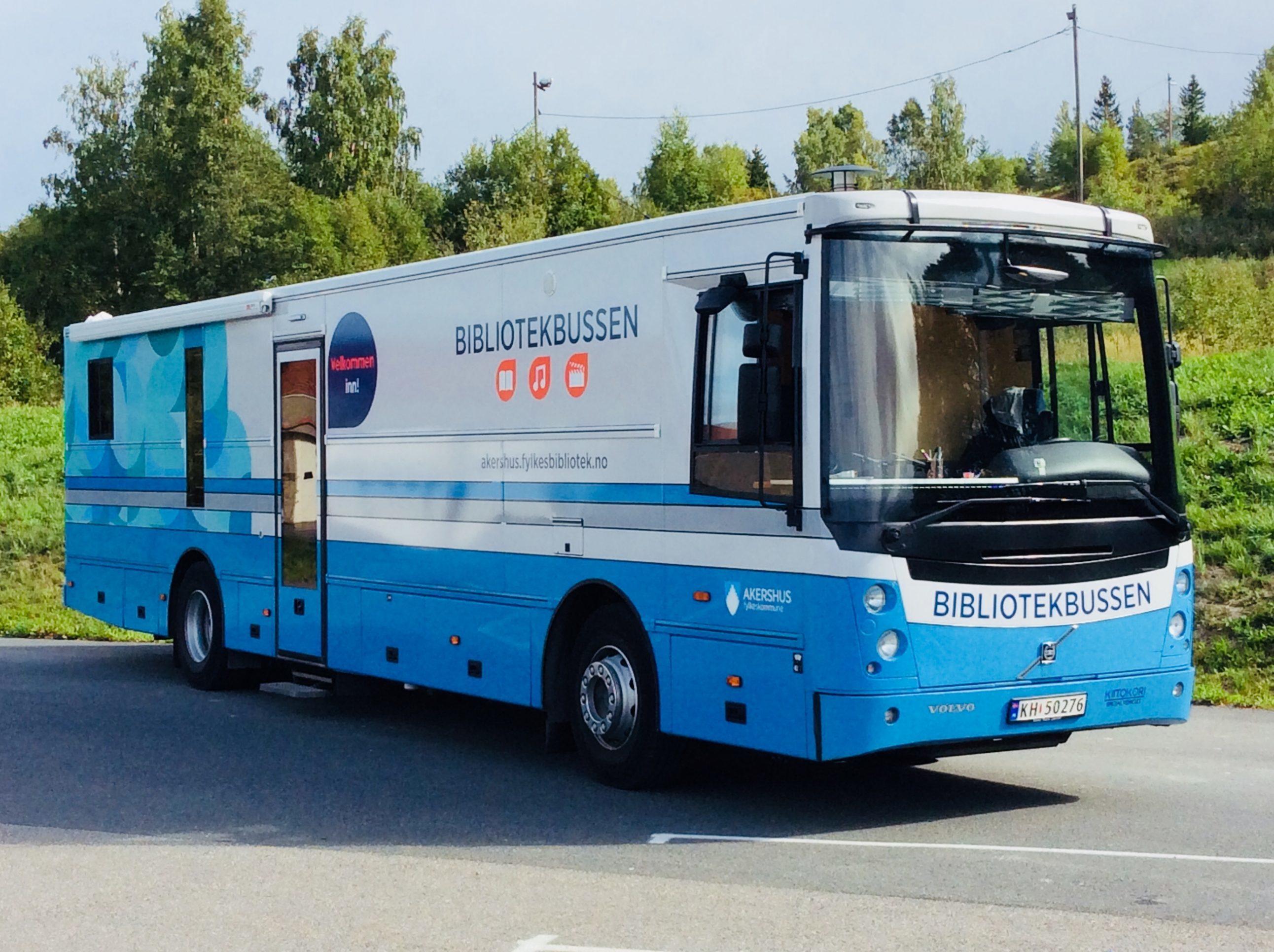 Bibliotekbussen i Akershus