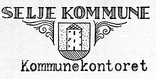 Det fyrste kommunemerket til Selje.