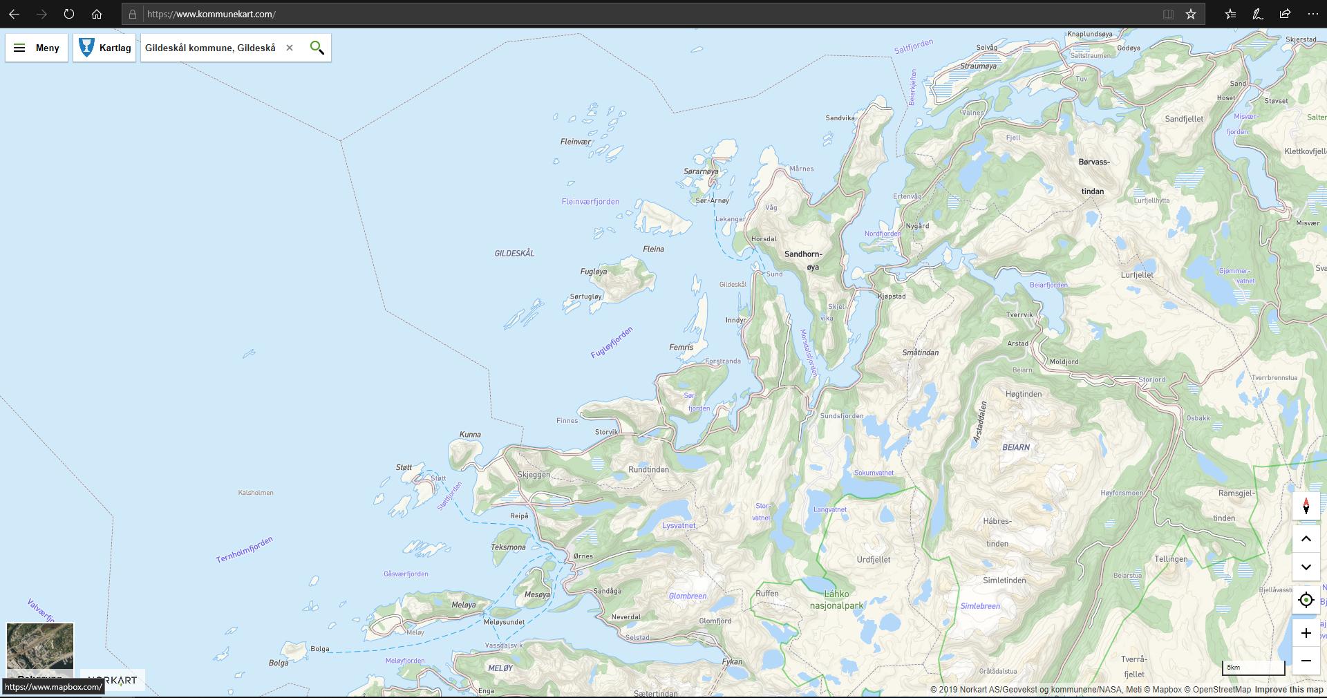 Kommunekart_kartløsning