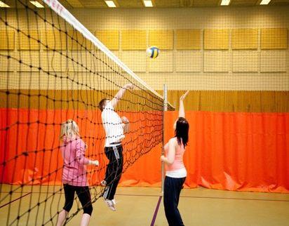 idrettshall ballspil volleyball