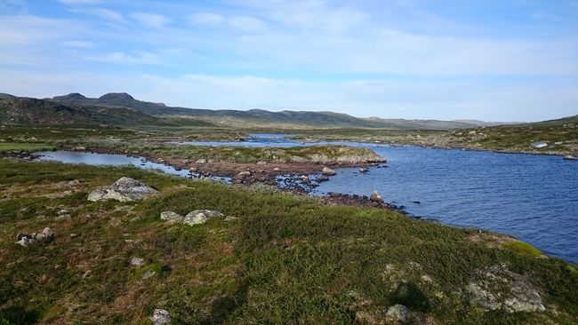 hardangervidda fjell vatn