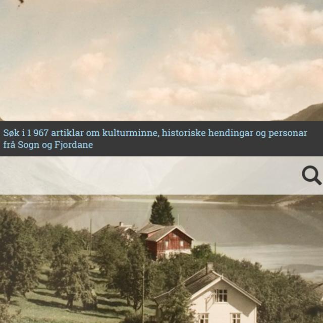 Skjermdump av nettsida leksikon.fylkesarkivet.no