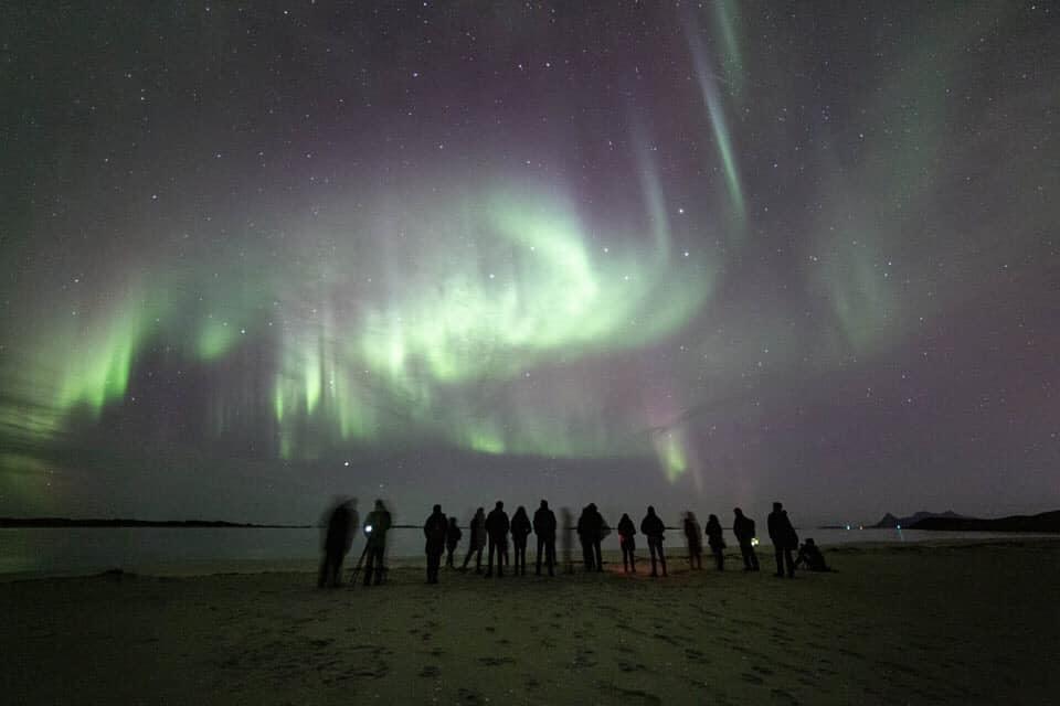 Promoterte Frozen 2 på Langsanden, foto Petter Formo