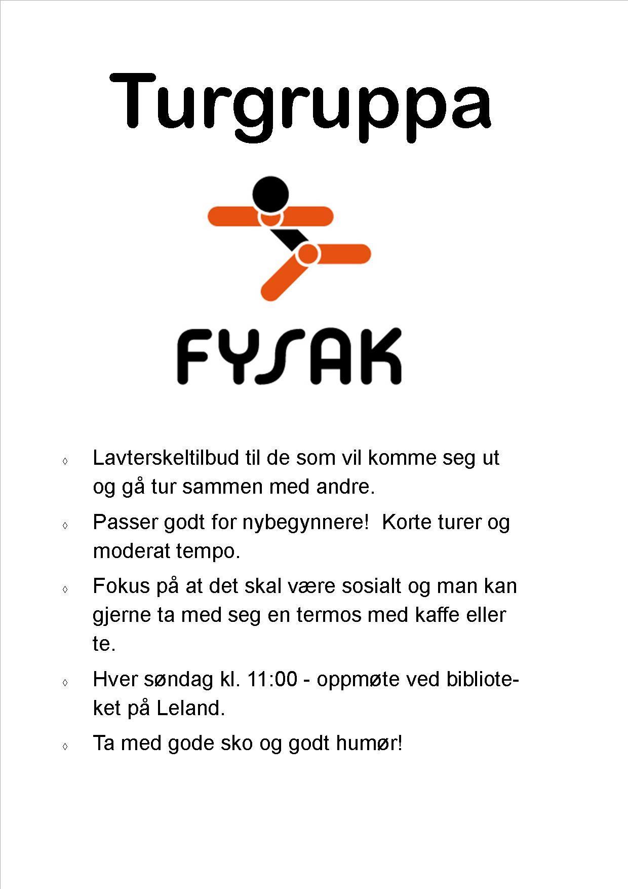 Turngruppa - Fysak  høst 2019