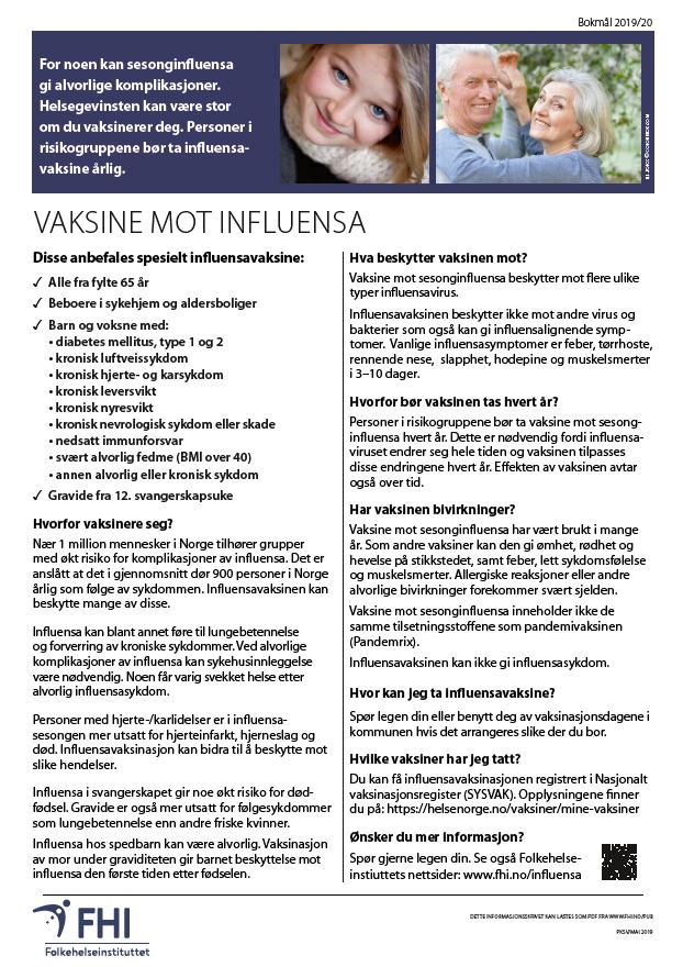 Vaksine mot influensa