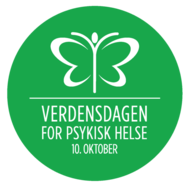Verdensdagen for psykisk helse - logo