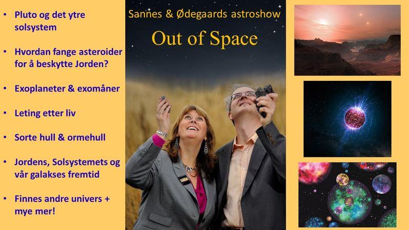 Foredrag om stjerner, planeter og romfart