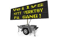 Veilys, nytt verktøy på gang_200x141