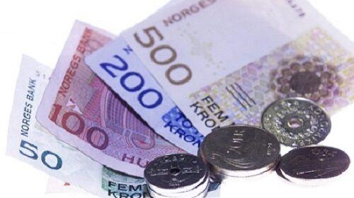 OSLO 20000211: Illustrasjonsfoto: Penger. Norske mynter og sedler. Foto: Cornelius Poppe / SCANPIX