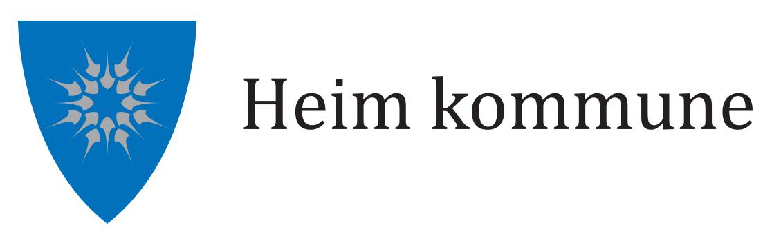 Heim kommune logo