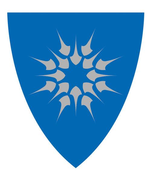Heim kommunevåpen skjold_blå-sølv(