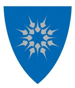 Heim kommunevåpen skjold_blå-sølv (endret størresle)