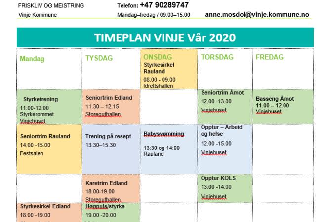 timeplan vår 2020 bilde2
