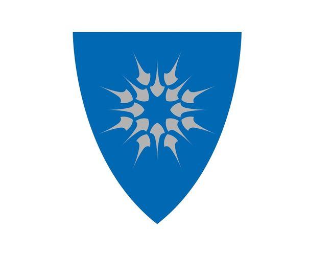 Heim kommunevåpen skjold_blå-sølv( redigert)