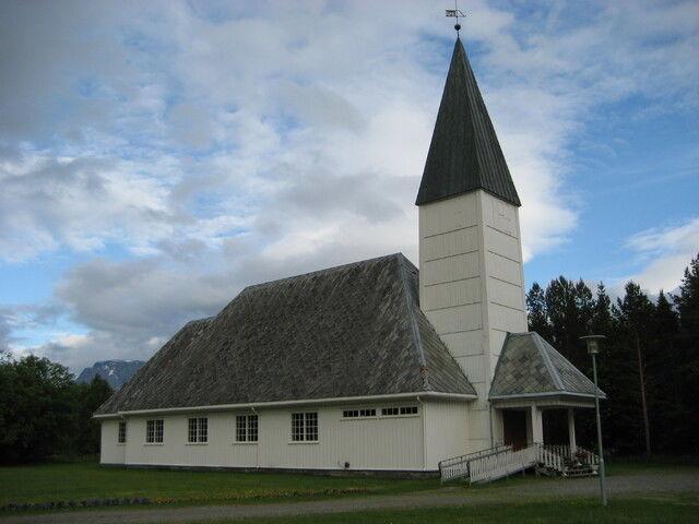Storfjord kirke Maria Figenschau