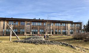 Vestby skole grøntområde
